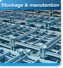 Stockage et manutention